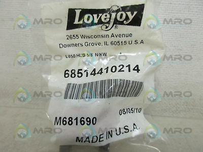 Lovejoy 68514410214 Jaw Coupler *new In Factory Bag*