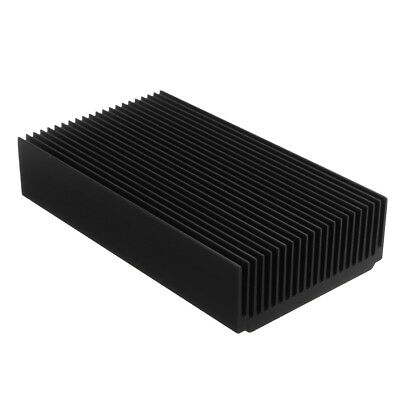 22 Tooth Black Oxide Aluminum Heat Sink Module Heat Radiation 120 x 69 x 27mm
