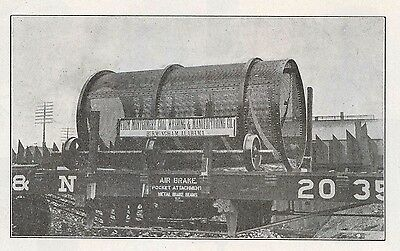 1909 Birmingham Alabama: Montgomery Coal Washer photo illust. pamphlet, mining