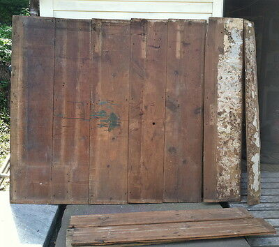 reclaimed lumber early 18th century antique buttery wide beaded wall boards