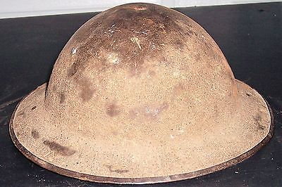 WWI WWII US Doughboy Helmet! Steel Combat Military Army Relic With Strap & Liner