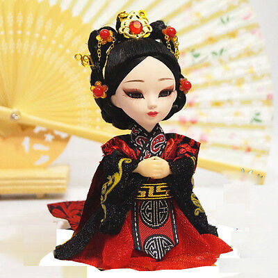 6'' Chinese Peking Opera Q version Doll  firgurine Historical Empress Wei Zifu !