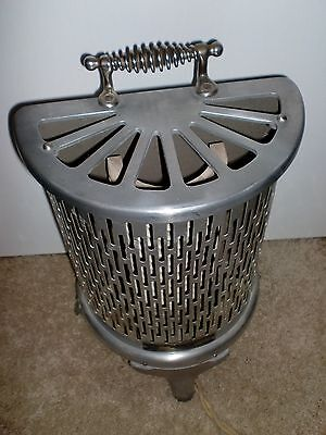 ANTIQUE HEATER from funral home made by Wesix  works  super clean