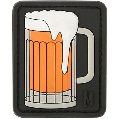 """Maxpedition PVC PATCH:BEERS Beer Mug Patch 1.6""""x2"""" SWAT"""
