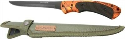 "SK-134 Sarge Knife Hi-Vis Camo 5"" Fixed Blade Boning Knife Sheath"