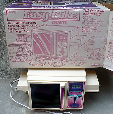 Vtg. 1983 Kenner Easy Bake Oven / Complete With The Pans Etc. & Original Box