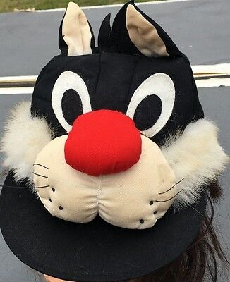 Vintage Sylvester Looney Tunes Toppers Character Hat/Cap Arbys 1989 KIDS