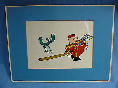 Original Production Cel Porky Pig? Unknown Character Animation Looney Tunes Bird