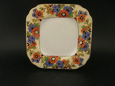 China Replacement Aynsley Vintage Art Deco Floral Tea Plate England c1920s 12cm