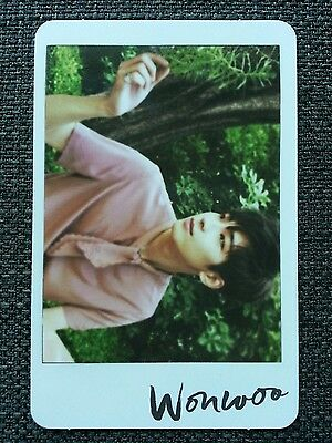 SEVENTEEN WONWOO #3 Official PHOTOCARD 4th Mini Album AL1 Photo Card 원우