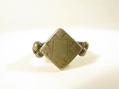 Alter getragener Ring Fulani Tuareg Old well worn ring bague Nomaden Afrozip