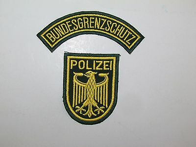 Germany BGS Bundes Polizei German State Police Transition Regulation Patch