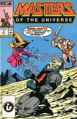 Masters of the Universe (1986 2nd Series Marvel/Star Comics) #9 VG+ 4.5