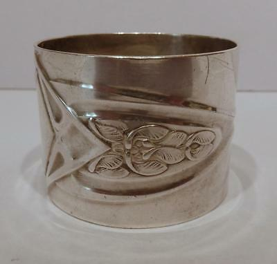 Lovely Vintage Art Nouveau WMF Silver Plated Napkin Ring