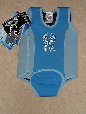 The Wetsuit Factory New Blue Boys Swimming Baby Wetsuit Warmer 12-18 Months
