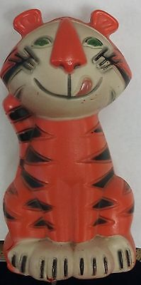 Vtg 1962 Tony the Tiger Plastic Bank Mail-In Premium With Plug Kelloggs