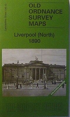 Old Ordnance Survey Maps Liverpool North Lancashire 1890 Sheet 106.10 New Map