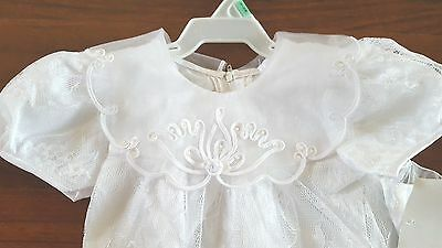 Baby Christening Baptism Dress Gown Nwt