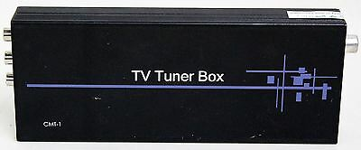 TV Tuner Box CMT-1 CYP UK Analogue Video Audio-Out RF Standalone 2-Channel