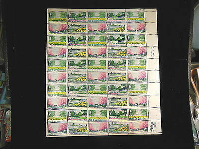 Beautification Of America    Scotts #1365-68    Us Postage Stamp Sheet 50 Stamps
