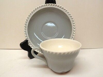 Harker Chesterton pattern Gray Cup & Saucer