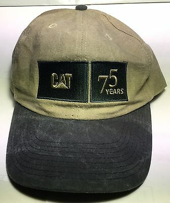 CYRK CATERPILLAR 75 Years POWER PARADE 2000 Distressed Work Baseball Hat Cap