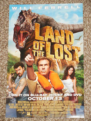 LAND OF THE LOST 11x17 PROMO MOVIE POSTER