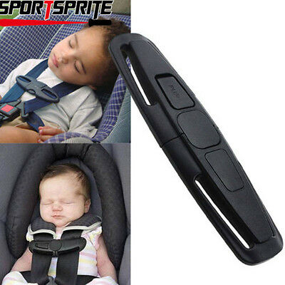 Baby Kid Car Seat Safety Belt Clip Buckle Child Toddler Safe Strap Fixed Lock