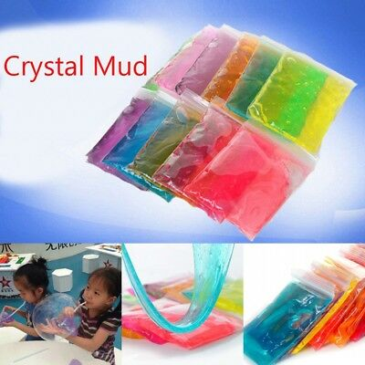 Crystal Mud Play Fimo Polymer Clay Dry Plasticine Playdough Play-doh for kids