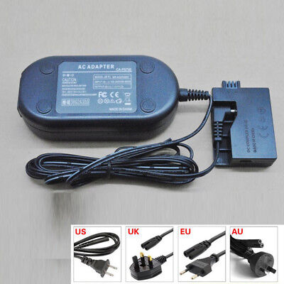 AC Adapter ACK-E8 ACKE8 Power Supply for Canon EOS 550D, 600D, 650D, Rebel T2i