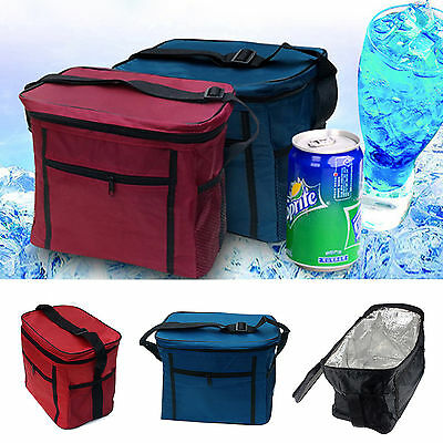 13L Cooler Cool Bag Box Picnic Camping Food Drink Festival Shopping Ice Outdoor
