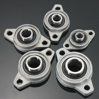 8mm to 35mm Zinc Alloy Flange Pillow Block Self Aligning Ball Bearings KP/KFL
