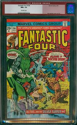 Fantastic Four # 156  All this...& the Silver Surfer too ! CGC 9.6 scarce book !