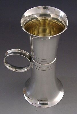 Sterling Silver Double Ended Spirit / Liquor Measure / Jigger 1990 Barware