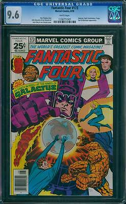 Fantastic Four # 173  Peril at the Hands of Galactus !  CGC 9.6 scarce book !