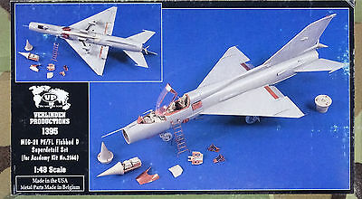 VERLINDEN PRODUCTIONS #1395 Detail Set for Academy Kit MiG-21PF/FL in 1:48