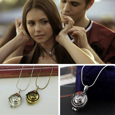 The Vampire Diaries Necklace Elena Gilbert Vintage Fashion Vervain Verbena HOT