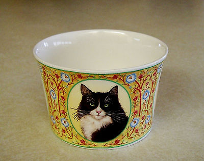 Sutherland Fine Bone China Kelly Woolacott CATS Sm Bowl/ Sugar Bowl -England