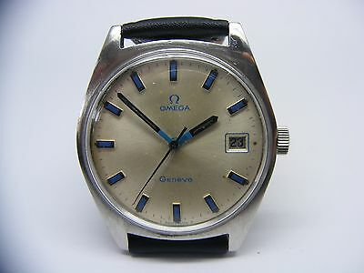 GENT'S VINTAGE OMEGA GENEVE circa 1969 RARE DIAL
