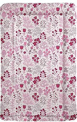 Spring Meadow Floral Padded Changing Mat - various colours - baby girl gift