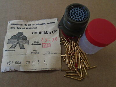 SOURIAU /& Cie FRANCE ELECTRICAL CONNECTOR 8-51-06EC14-12S 50