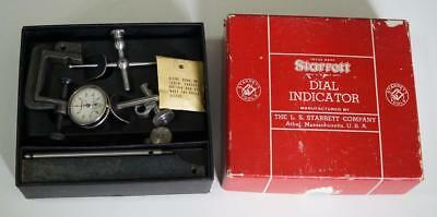 Starrett No.196A Dial Test Indicator In The Box