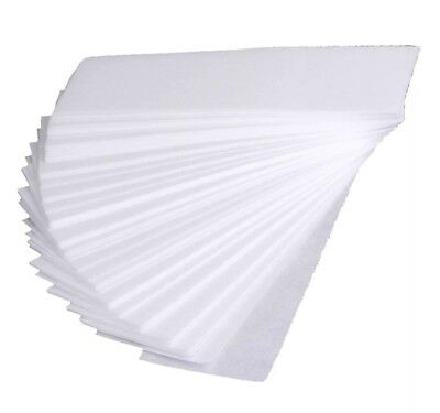 Pack Of 100 Professional Waxing Strips Non Woven for Legs Body Hair Removal Wax