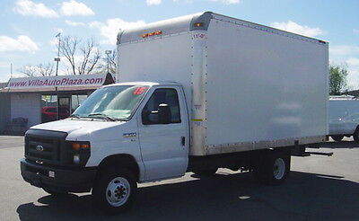 2015 Ford E-Series Van  2015 FORD E350 SD CUTAWAY 15ft Box Truck with Ramp 74k Miles