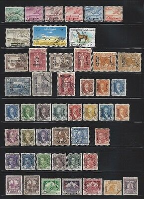 Collection of Old BOB Stamps from IRAQ ......................(2 pages)