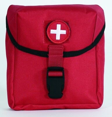 """Voodoo Tactical 15-9585016000 Marine Style EMT Pouch Red 9""""x6""""x2"""""""