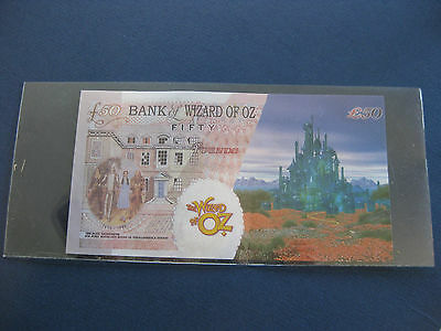 Bank of Wizard of Oz FIFTY POUNDS The Bank Gatekeeper Sir John Houblon's House