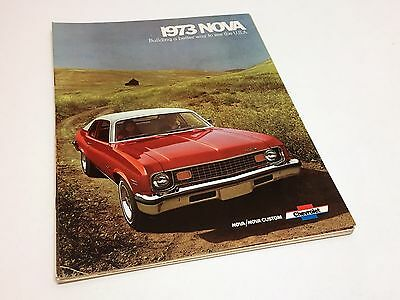 1973 Chevrolet Nova Custom Brochure