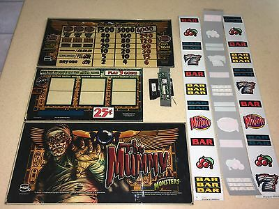 IGT S2000  -  THE MUMMY Complete Kit With Topper Insert