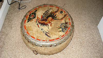 Antique Chinese Dragon Drum